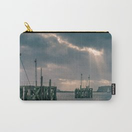 Cardiff Bay god rays Carry-All Pouch