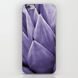 Ultra Violet Agave Vibes #4 #tropical #decor #art #society6 iPhone Skin