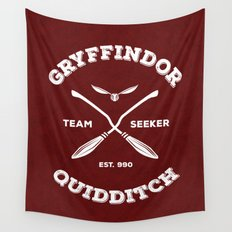 Gryffindor Quidditch Wall Tapestry