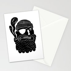 THE PIPE - LINOCUT Stationery Cards