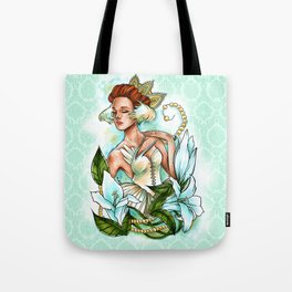White Swan Ballerina. Tote Bag