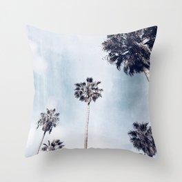 Venice Palms Throw Pillow