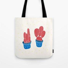 Happy Cacti Tote Bag