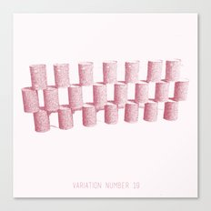 Variation Number 19 (sketch) Canvas Print