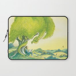 Tolkien And His Dragons Laptop Sleeve