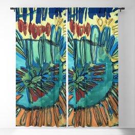 Sunflower Blackout Curtain