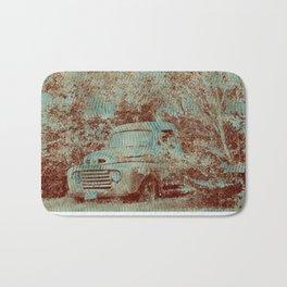 1950 Ford F100- Textured Rust Bath Mat
