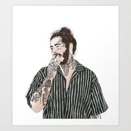 Posty Art Print