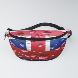 Flag of Hawaii - Raindrops Fanny Pack