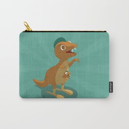 The Dino-zoo: Kangaroo-saurus Carry-All Pouch
