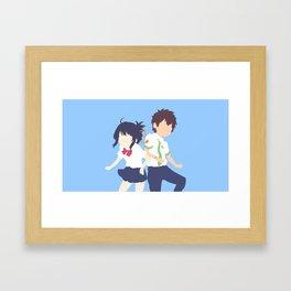 Your Name Framed Art Print