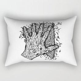 Slam That Pizza In Mah Face Rectangular Pillow