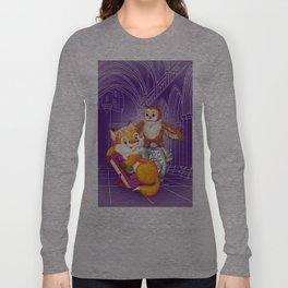 fox and owl Long Sleeve T-shirt