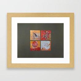 My Japaneses painting Framed Art Print