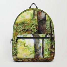 Forest Woods Vermont Landscape Backpack