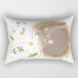 Night-night Bunny Rectangular Pillow