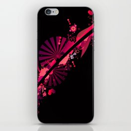 abstract concept iPhone Skin