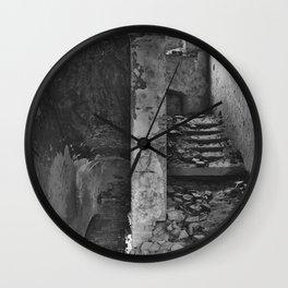 Monastery stairs Wall Clock