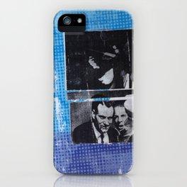 OSWALD/HALF TONE iPhone Case