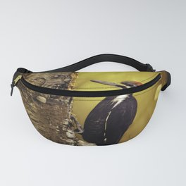 Pileated Woodpecker Forest Sunrise Fanny Pack