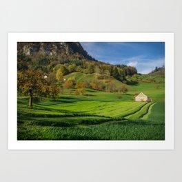 Switzerland Art Print