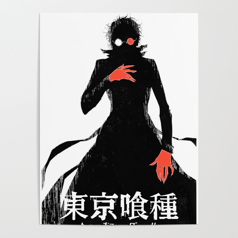 Kaneki Ghoul Black Reaper Poster By Franciscopascual Society6