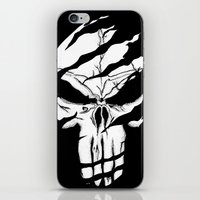 punisher iPhone & iPod Skins featuring Punisher by Spectral stories