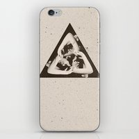 triangle iPhone & iPod Skins featuring TRIANGLE by Ali GULEC
