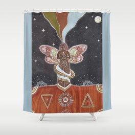 Wings and Roots Shower Curtain