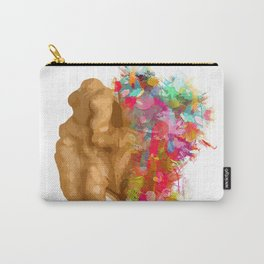 I create - The right side of the brain Carry-All Pouch