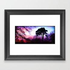 Dream in Purple Framed Art Print