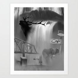 Snoqualmie valley Art Print