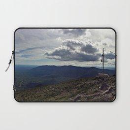 Peak of Sugarloaf Mountain in Carrabassett Valley, Maine Laptop Sleeve