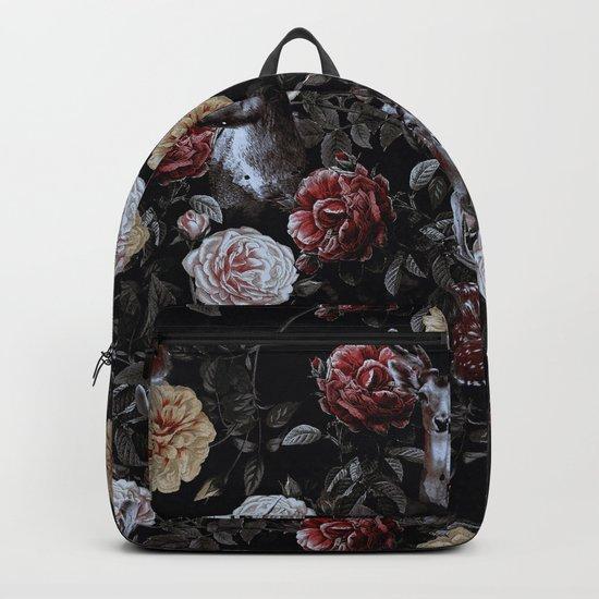 Deers and Flowers Backpack