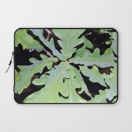 In the night forest, trees and stumps Laptop Sleeve