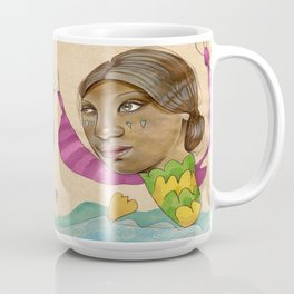 Crying Sea Monster Coffee Mug