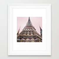 thailand Framed Art Prints featuring Thailand by Maria