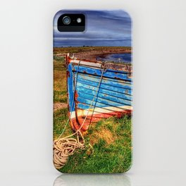 Lindisfarne By The Sea iPhone Case