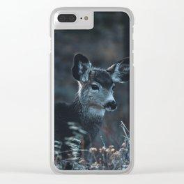 Little Elk Clear iPhone Case