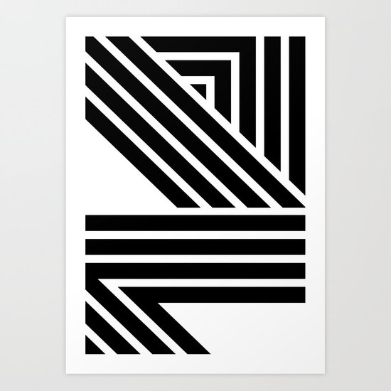 Starlines 02. Art Print