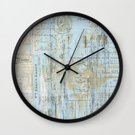 The French Bath Mat Wall Clock