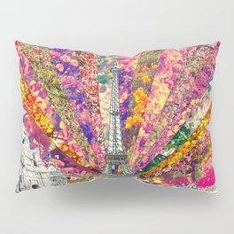 Vintage Paris Pillow Sham