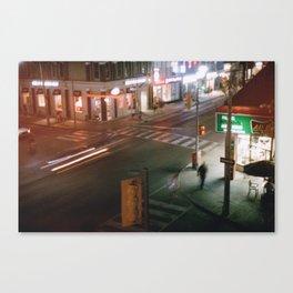 Toronto - Crosswalkin' Canvas Print