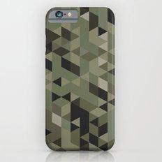 Isometric Camo Slim Case iPhone 6s