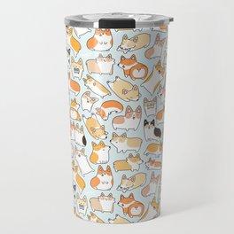 Corgilicious Corgi Doodle Travel Mug