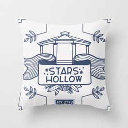 Stars Hollow Tourism Committee Throw Pillow