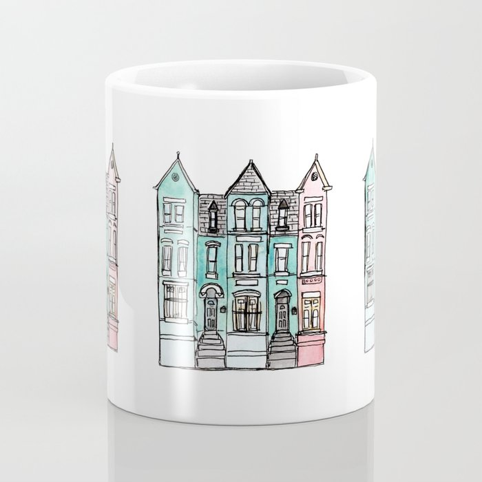 DC Row House No. 2 II U Street Coffee Mug