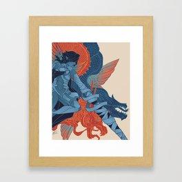 The Dragon's Claws Framed Art Print