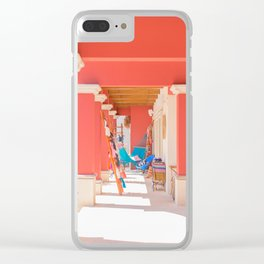 Mexican Storefront Clear iPhone Case