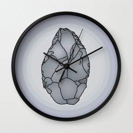 Axe Stone Age Wall Clock
